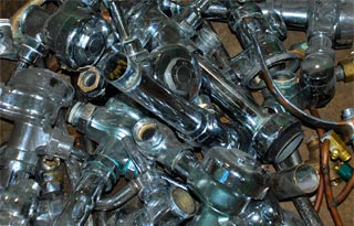 Copper Wire Pipe Recycling Plumbing Scrap Mn